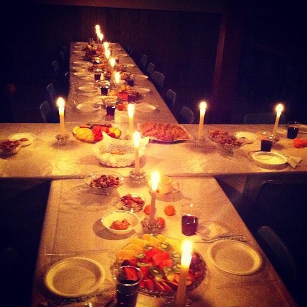 Maundy Thursday Agape Dinner Snowmass Chapel